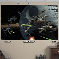 <strong>Fathead</strong> Star Wars Space Battle Wall Mural