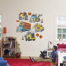 Work Trucks Wall Decal