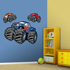Monster Trucks Wall Decal