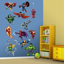 Super Hero Squad Wall Graphic