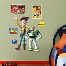 Disney Woody and Buzz Lightyear Junior Wall Graphic