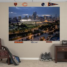 Soldier Field Skyline Wall Mural