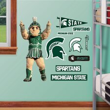 NCAA Mascot Jr. Wall Decal