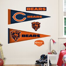 NFL Pennant Wall Decal