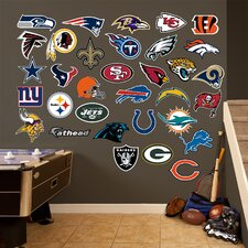 NFL Logo Wall Graphic