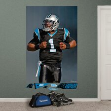 Cam Newton Superman Wall Mural