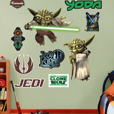 <strong>Fathead</strong> Star Wars Yoda Wall Decal