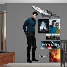 Star Trek Into Darkness Spock Wall Graphic