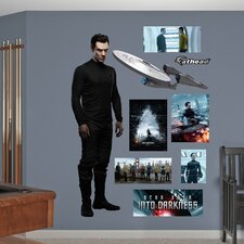 <strong>Fathead</strong> Star Trek Into Darkness Khan Wall Decal