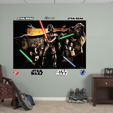 Star Wars Saga Montage Wall Mural