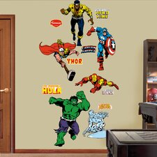<strong>Fathead</strong> Super Heroes Classic Heroes Wall Decal