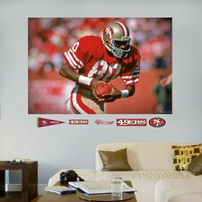 <strong>Fathead</strong> NFL San Francisco 49ers Jerry Rice Wall Mural