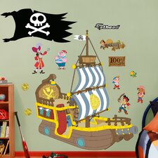 Disney Jake and the Neverland Pirates Bucky Pirate Ship Wall Graphic