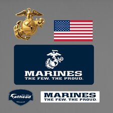 <strong>Fathead</strong> Military USMC Logo Wall Decal