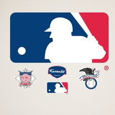 MLB Baseball Logo Wall Decal