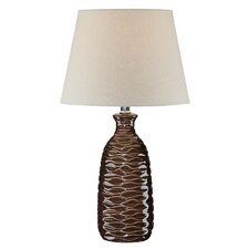 """Lorelei 22"""" H Table Lamp with Empire Shade"""