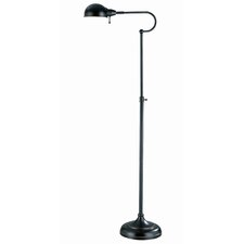 <strong>Lite Source</strong> Classic Metal Reading Floor Lamp