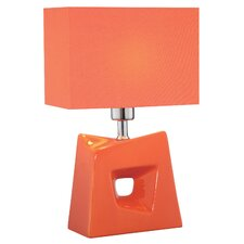 "Cynthia 16.25"" H Table Lamp with Rectangle Shade"