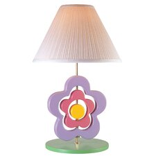 <strong>Lite Source</strong> Hippie Spinning Flower Table Lamp