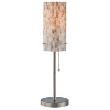 "Schale 22"" H Table Lamp with Drum Shade"