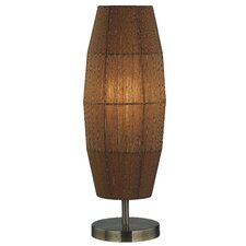 "Parvati Wide 20"" H Table Lamp with Drum Shade"