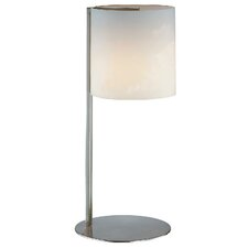 "Velia 18.5"" H Table Lamp with Drum Shade"