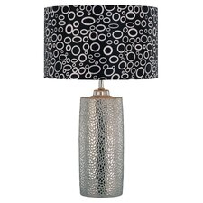 "Broden Silvio 24"" H Table Lamp with Drum Shade"