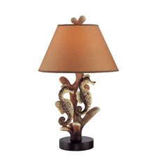 "Seahorse 26.5"" H  Table Lamp with Empire Shade"