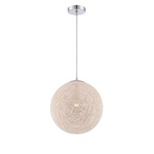 <strong>Lite Source</strong> Kumi 1 Light Globe Pendant