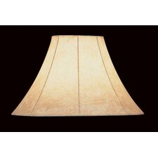 Embossed Faux Leather Lamp Shade