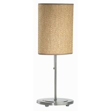 <strong>Lite Source</strong> Rattan  Table  Lamp