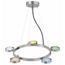 <strong>Lite Source</strong> 5 Light Pendant