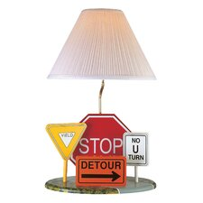 <strong>Lite Source</strong> Highway Signs Table Lamp