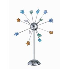 Star Struck Table Lamp with Star Shades