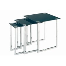 <strong>Lite Source</strong> 3 Piece Nesting Table