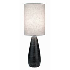 "Quatro Mini 17.5"" H Table Lamp with Drum Shade"
