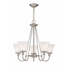 <strong>Lite Source</strong> Bastien 5 Light Chandelier