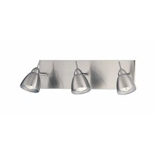 <strong>Lite Source</strong> Casara  3 Light Wall Lamp