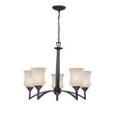 <strong>Lite Source</strong> Ethan 5 Light Chandelier