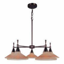 <strong>Lite Source</strong> Hogan 5 Light Chandelier
