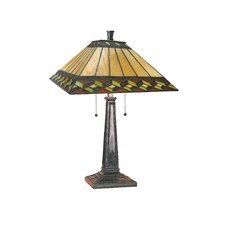 "Inglenook II 24"" H Table Lamp with Empire Shade"