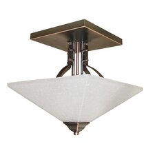 Ontibile 2 Light Semi Flush Mount