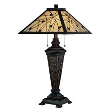 "Remus 29.25"" H Table Lamp with Empire Shade"