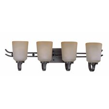 <strong>Lite Source</strong> Rupert 4 Light Vanity Light