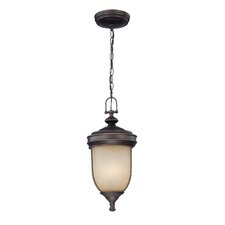 Shanton 3 Light Outdoor Pendant Lamp