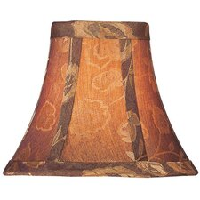 Candelabra Lamp Shade in Golden Rose