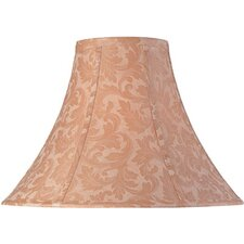 "<strong>Lite Source</strong> 7"" x 18"" Jacquard Bell Lamp Shade"