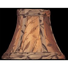 Candelabra Lamp Shade in Copper Jacquard
