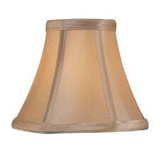 Candelabra Lamp Shade in Light Gold