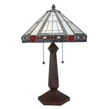 """Fitzwilliam 23.5"""" H Table Lamp with Bowl Shade"""